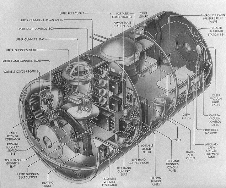 B-29 Cutaways: 39th Group (VH)